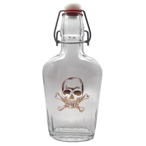 Image of Glass Swing top Gold Skull