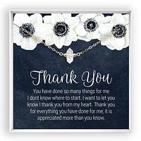 Copy of Thank You  Herkimer Diamond Necklace