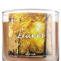3-Wick Candle Leaves