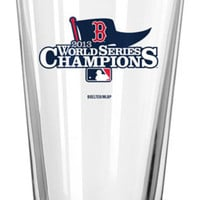 MLB 2013 World Series Champion Satin Etched Pint Glass  16-Ounce