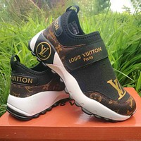 Louis Vuitton LV Women Toes Letters Shoes Tail Letters Sneakers Shoes