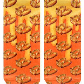 Pretzel Ankle Socks