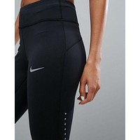 NIKE Women Fashion Stretch Sweatpants Sport Pants Trousers