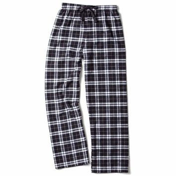Boxercraft Black and White Flannel Pant