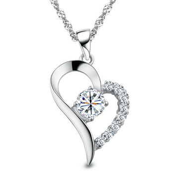 """FREE 2016 """"Endless Love™ Exclusive Diamond Necklace""""Just Pay Shipping"""