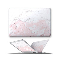 macbook decal rubberized front hard cover for apple mac macbook air pro 11 12 13 15 marble gemstone