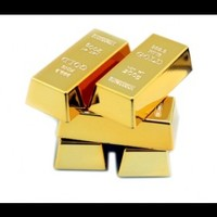 INFMETRY:: Gold Bullion Magnets - Gifts