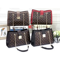 LV 2019 new large-capacity tote bag handbag chain bag diagonal package