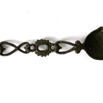 Antique Spoon, Vintage Collectibles, Rusty Iron, Collection, Forged Metal