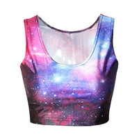 Galaxy Rave Crop Top