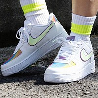 Nike Air Force 1 AF1 Easter Laser Fashionable Women Men Casual Sports Shoes Sneakers