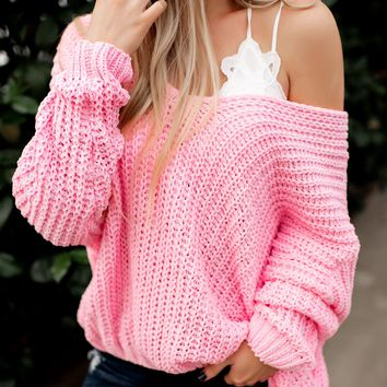 Reasons To Relax Sweater (Bubblegum)