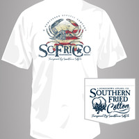 Southern Fried Cotton - American Crab Pocket Tee