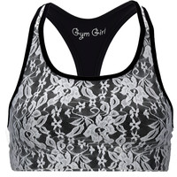 Lace Sports Bra in Romance