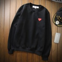 comme des garcons play Long Sleeve Shirts