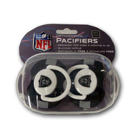 Baby Fanatic 2-Pack Pacifiers - Oakland Raiders