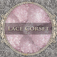 LACE CORSET Mineral Eyeshadow: 5g Sifter Jar, Pale Cool Pink, Natural Cosmetics, Shimmer Eyeshadow