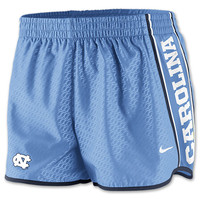 Women's Nike North Carolina Tar Heels College Chainmaille Pacer Shorts