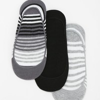 Stripes On Stripes No-Show Sock - Pack Of 3 - Urban Outfitters