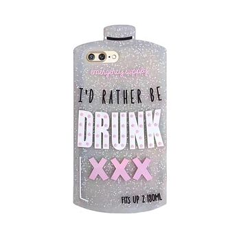 Rather Be Drunk Phone Case