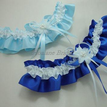 Garter, satin ribbon garter, Bridal garter, Wedding/Prom Garter