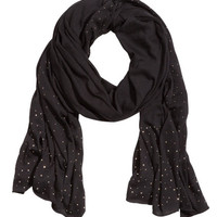 Studded Jersey Scarf - from H&M