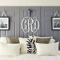 Wooden Wall Monograms : monogrammed, wood monogram | Personalized From Me To You