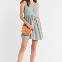 UO Drop-Waist Babydoll Frock Dress | Urban Outfitters