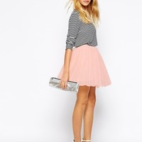 Fashion Union Tulle Mini Prom Skirt