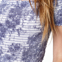 Kendall & Kylie Smocked Off-The Shoulder Top at PacSun.com