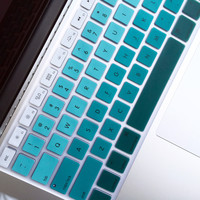 Macbook Keyboard Cover - Mint Ombre
