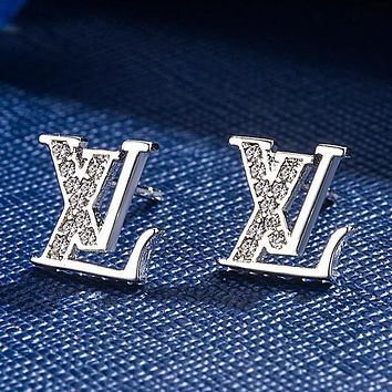 LV Louis Vuitton Women's Fine Classic Letters Earring Personalized Earrings