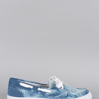 Soda Denim Dye Boat Flat