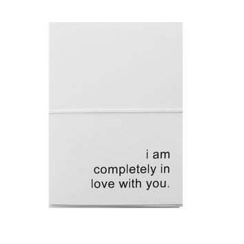 i am completely in love with you note cards