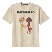 Retro Radiohead Album Cover Rock UK Band T-Shirt Tee Organic Cotton Vintage Look Size S M L
