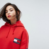 Tommy Jeans - Hoodie avec logo collection capsule 90's at asos.com