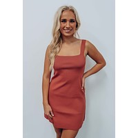 Can't Be The Reason Dress: Terracotta