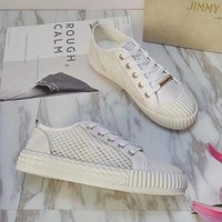 Jimmy Choo Women Fashion Casual Sneakers Sport Shoes