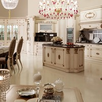 Classic style kitchen with island IMMAGINA by Martini Mobili