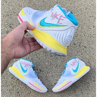 Nike Kyrie 6 Neon Graffiti sneakers basketball shoes