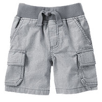 Mini Houndstooth Cargo Shorts