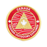 Canada Outdoors Explorer's Patch