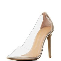 Cinderella Pump - Transparent