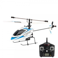 New Packing Wltoys V911 4 Channel 2.4GHz Single Blade RC Helicopter with Gyro RTF Blue