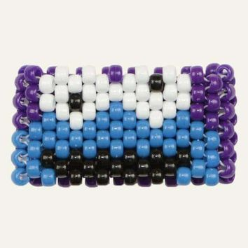 Cookie Monster Kandi Cuff