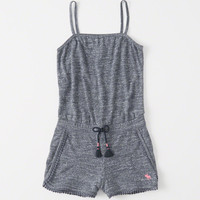 girls Pull-On Romper | girls dresses & rompers | Abercrombie.com