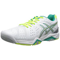 Asics Womens Gel Resolution 6 Mesh Athletic Tennis Shoes