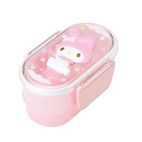 Cute! Sanrio My Melody W Bento Lunch Box
