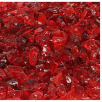 10 lbs Colored Recycled Fireglass For Fire Pits