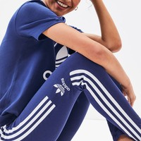 adidas Dark Blue Trefoil Leggings | PacSun